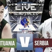 Semis: Serbia - Lituania