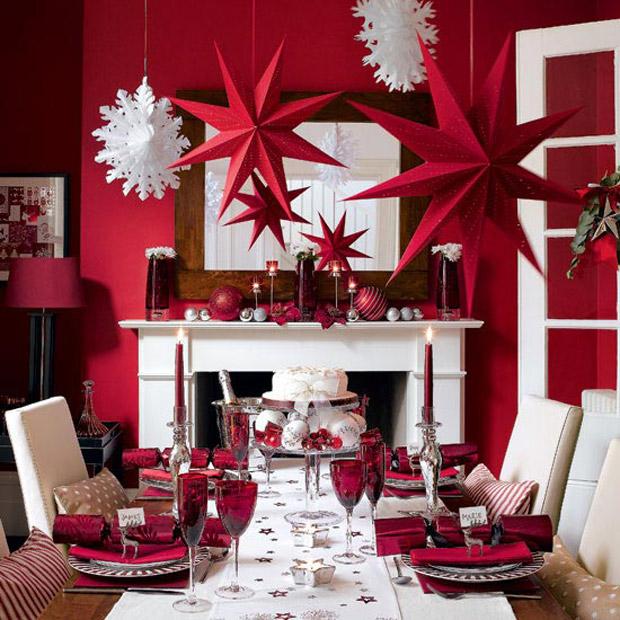 Decoracin del Hogar en Navidad beQbe