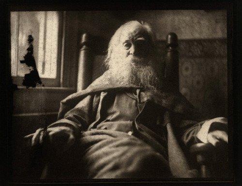 Walt Whitman. foto por Thomas Eakins, 1891.