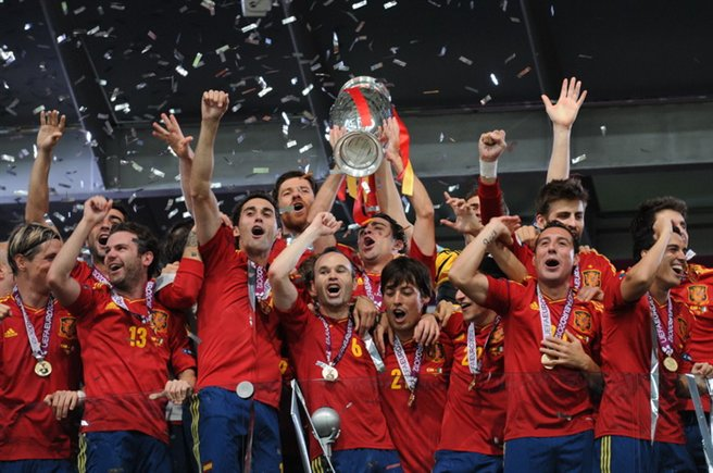 Spain National Football Team Euro 2012 Trophy 02