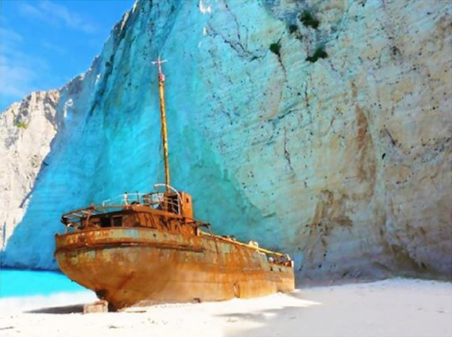 Yanpy Post 93 Yacht Charter Greece Navagio Beach Zakhyntos