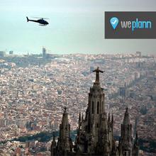 Sobrevuela Barcelona y el Mediterráneo
