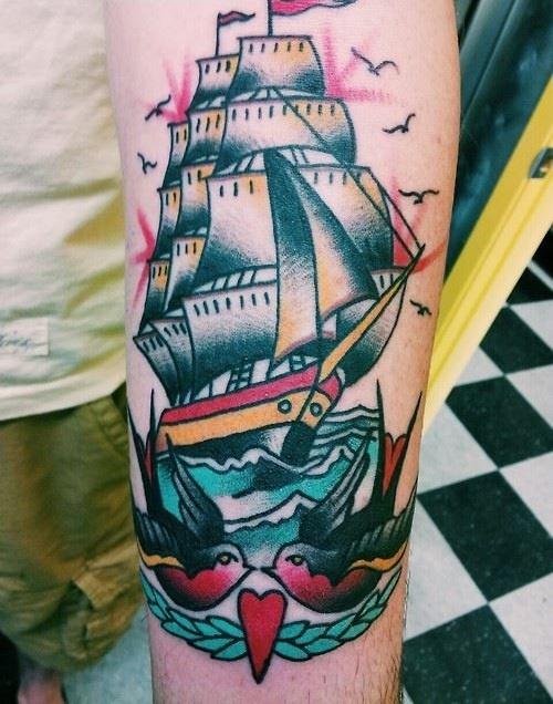 Tatuajes Tradicional Americano Beqbe