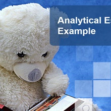 Analytical Essay Example & Writing Tips
