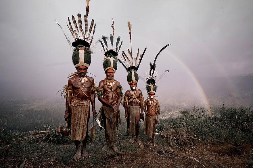 Kalam, l'Indonésie et la Papouasie- Nouvelle-Guinée