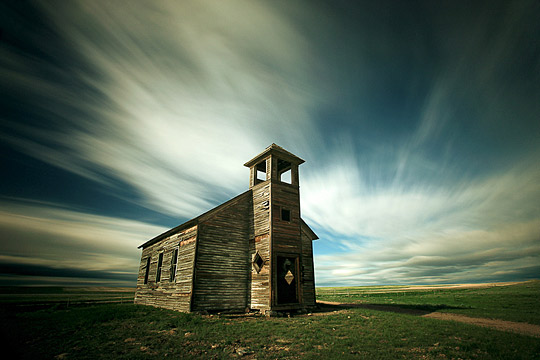 Old Cottonwood Church by Todd Klassy