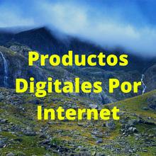 Productos Digitales Por Internet