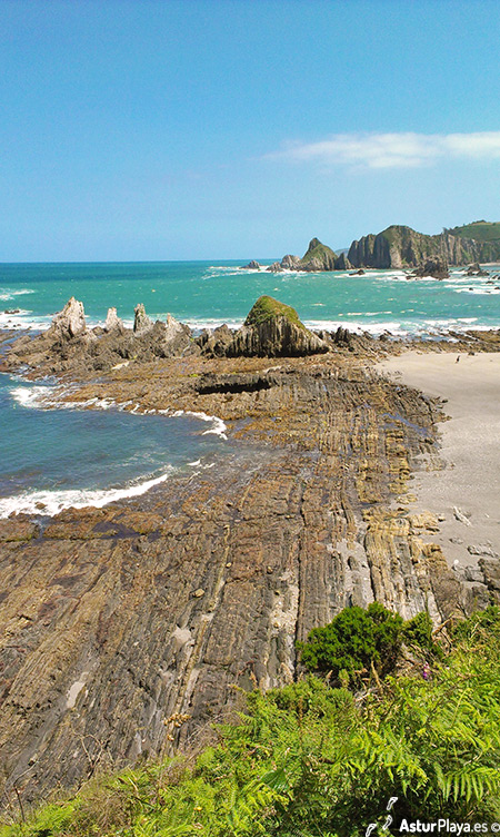 Gairua Beach Cudillero Asturias