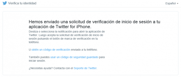 Hemos Enviado Una Solicitud De Inicio De Sesion A Tu App De Twitter Para Iphone 600x258 1