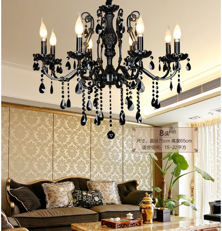 Modern Black Chandelier Bedroom Caboche Chandelier Vintage Chandelier Living Room China Lighting Font B Wrought B