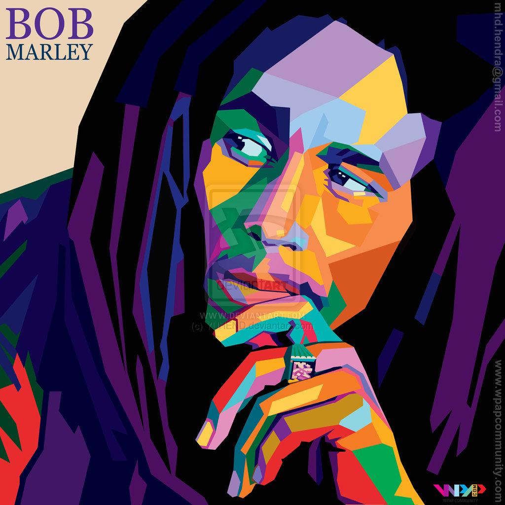Wpap Bob Marley A By Yuhend D5vxz5i