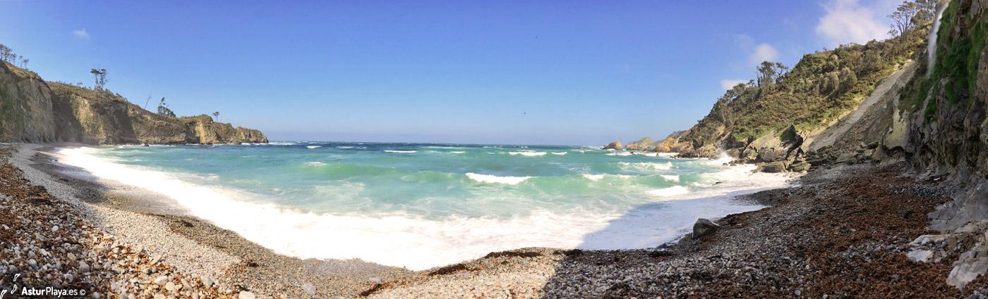 Cambaredo Beach Asturias2