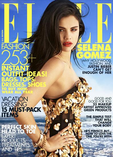 Selena Gomez Elle Magazine Cover 1