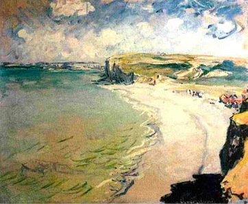 Beach At Pourville