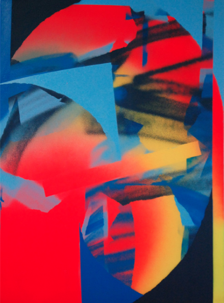Untittle. Untittle again series.  Acrilico lienzo (63x81cm)