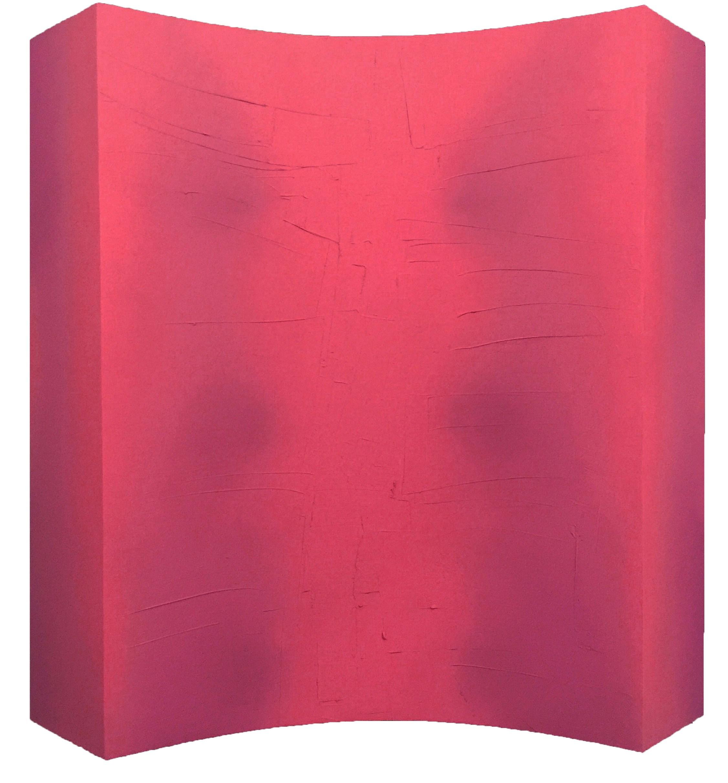 Sima Roja Tecnica Mixta Sobre Tabla 160 X 160 X 20 Cm 25 Kg Copia