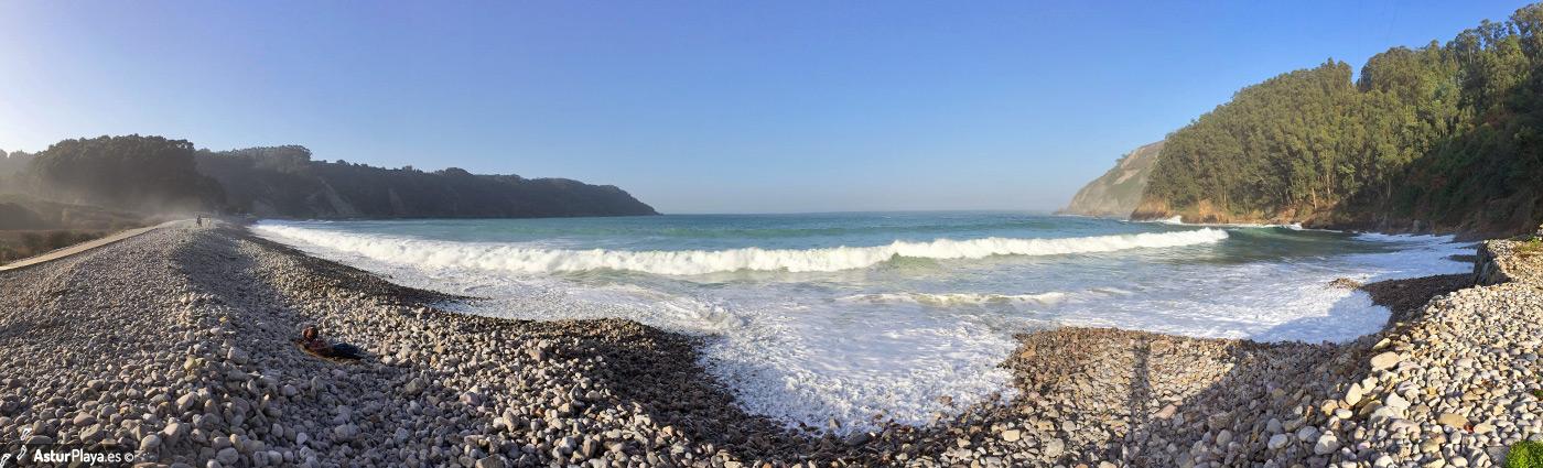 Concha De Artedo Beach Cudillero2