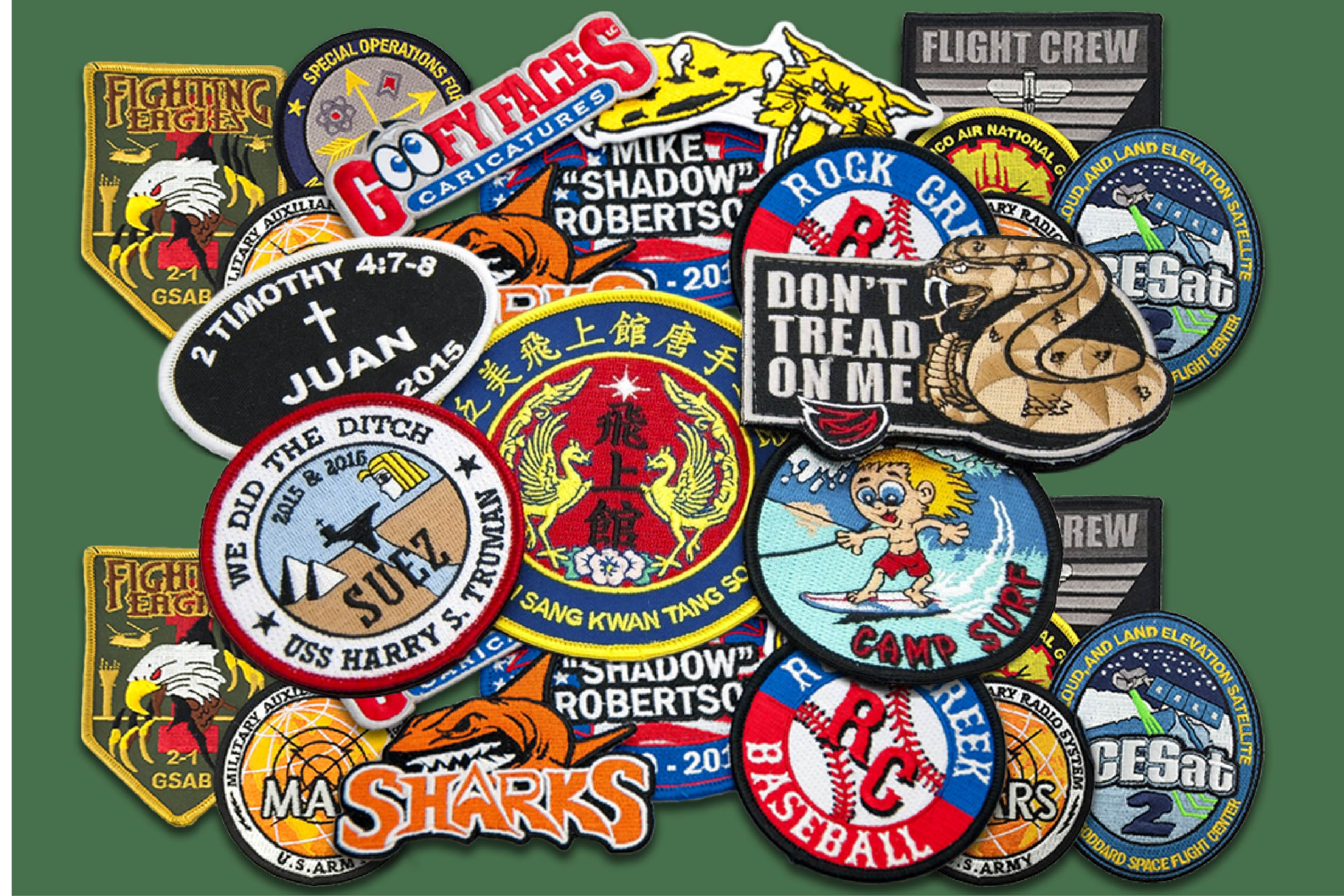 Do Custom Embroidered Patches Designed Digitized And Shipped At Your Doorstep