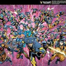 Ventas de cómics Valiant en Septiembre