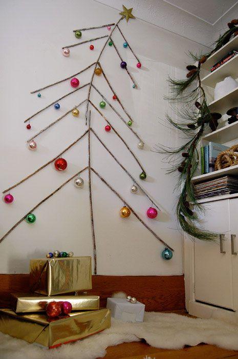 Arbol De Navidad Con Ramas
