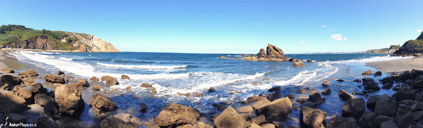 Reguero Cordial Beach Asturias4