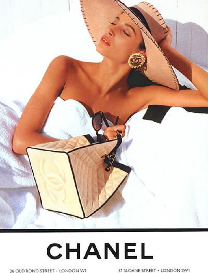1980fashionadvertising 1980s Chanel61