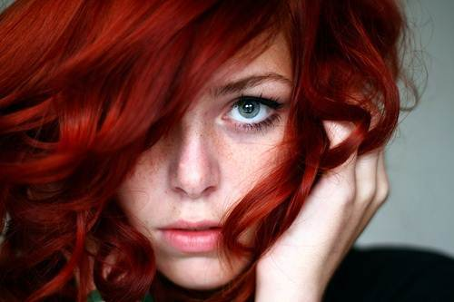 Red Hair With Highlights Blonde