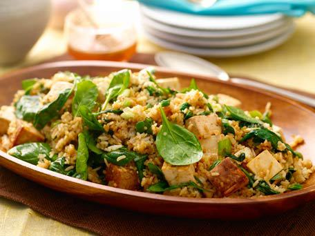 Receta Tofu Con Arroz