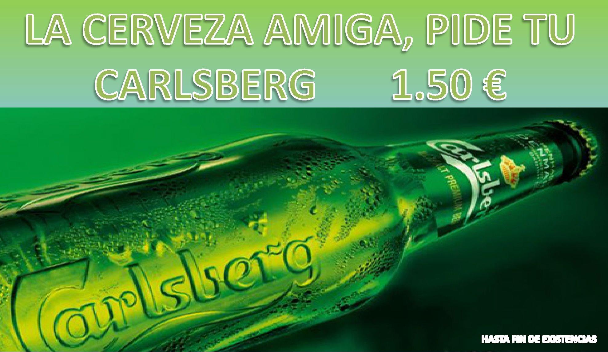 Super Promo Carlsberg A 1 50 Hasta Fin De Existencias