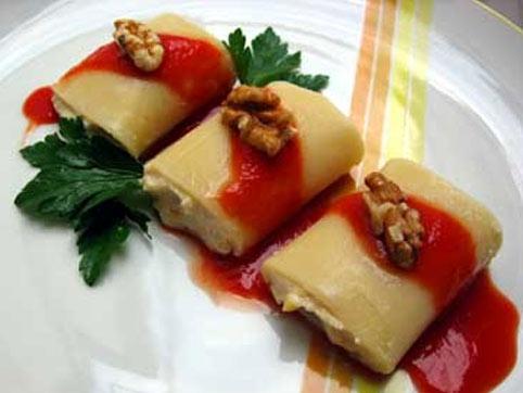 Pasta Tofu Nueces