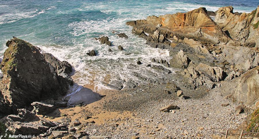 Reburdia Beach Asturias