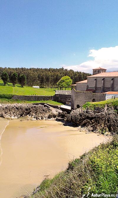 Los Curas Beach San Salvador Monastery Celorio Llanes
