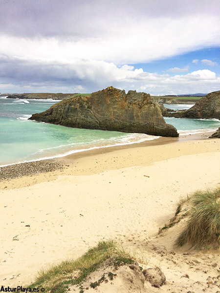 Mexota Beach Asturias Spain