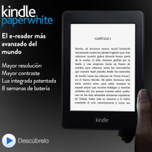 Kindle Paperwhite y Kindle Paperwhite 3G