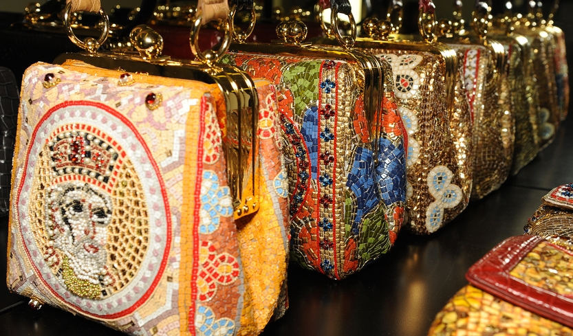 Dolce And Gabbana Fw 2014 Mosaic Women Collection The Handbags