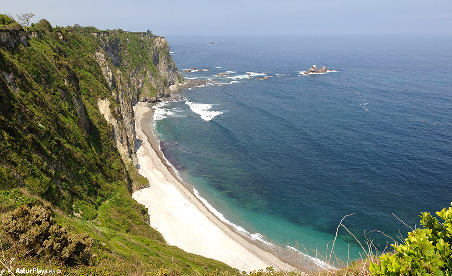 Churin Beach Asturias Spain