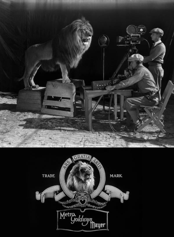 """8. """"Jakie el León"""" ruge frente a las cámaras de MGM (1928)"""