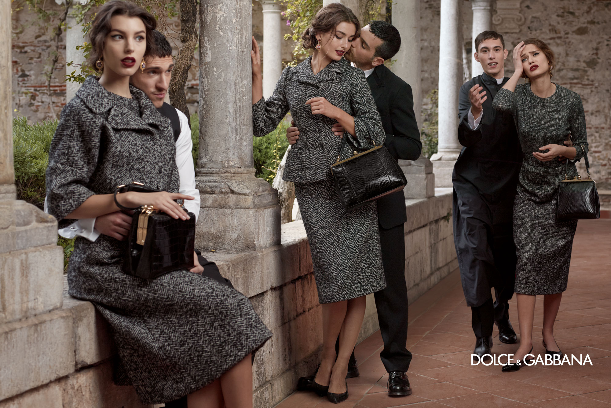 Dolce And Gabbana Fw 2014 Women Adv Campaign 1