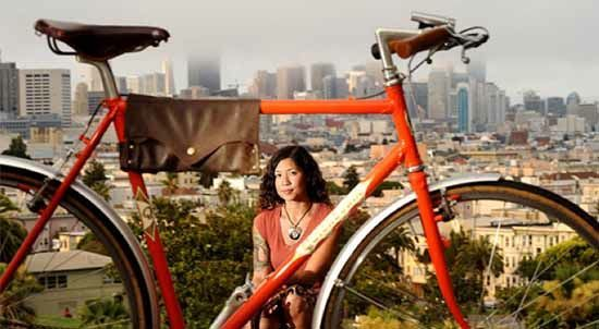 Bike Bag Woman
