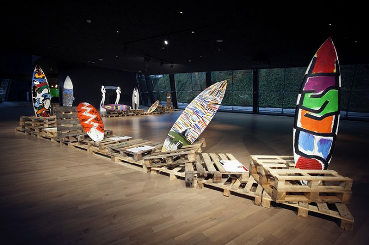 EXPO SURFBOARDS MASTER PIECES / MUSEO BALENCIAGA