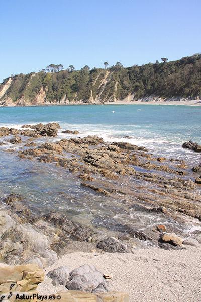 Castello Beach Eastern Side Asturias