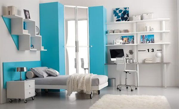 Teen Bedroom Interior 11