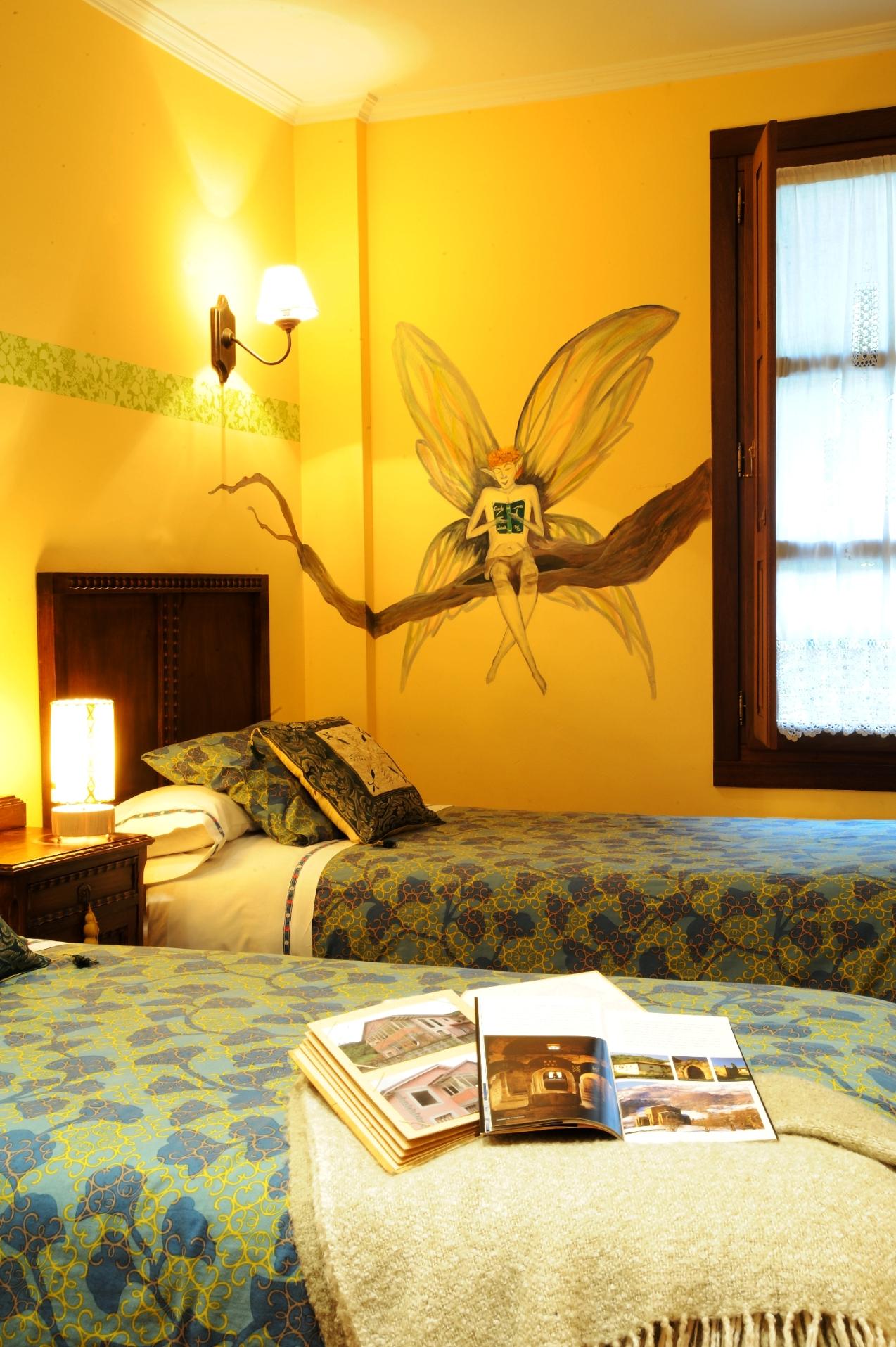 Habitación representativa mitología asturiana