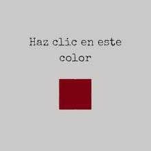 Haz clic en el color y mira lo que pasa