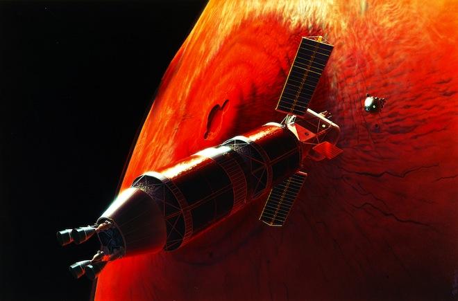 Mars Orbit Rendez Vous S95 01407