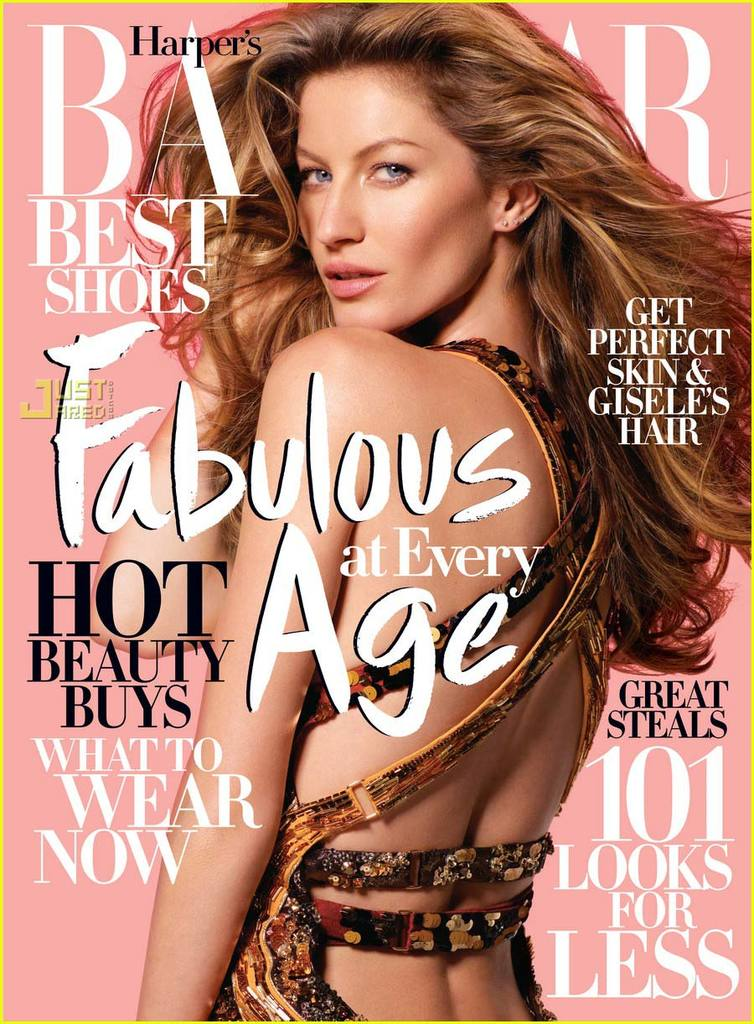 Gisele Bundchen Harpers Bazaar April 2009 04