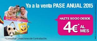 Pase anual Parque de Atracciones 2015