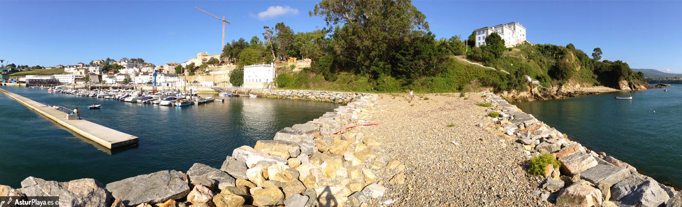 Dos Botes Beach Teson Island Castropol Asturias Mainpic