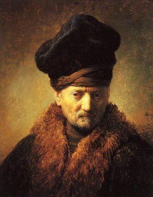 """""""Vieillard au bonnet et fourrure"""""""