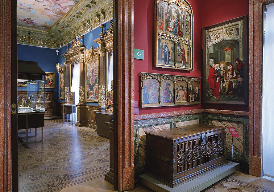 Salas del Museo Lázaro Galdiano
